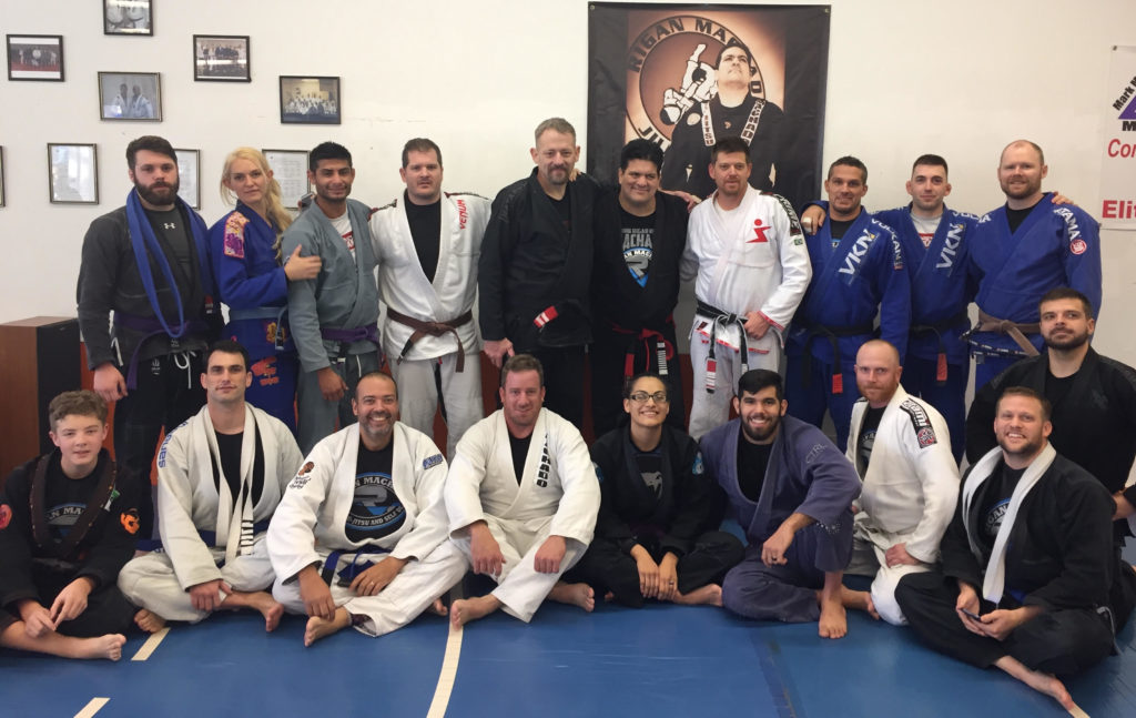 Lehi Judo representatives at Rigan seminar