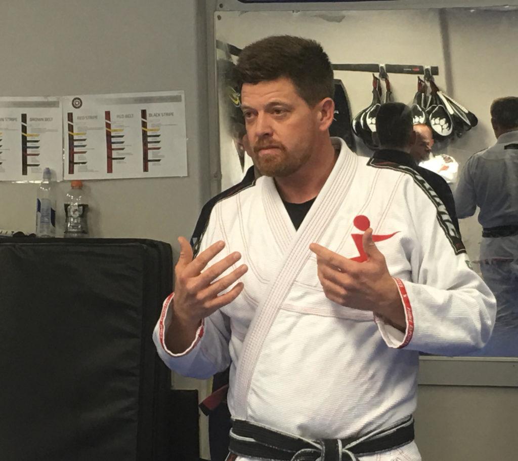 Jeff during a seminar