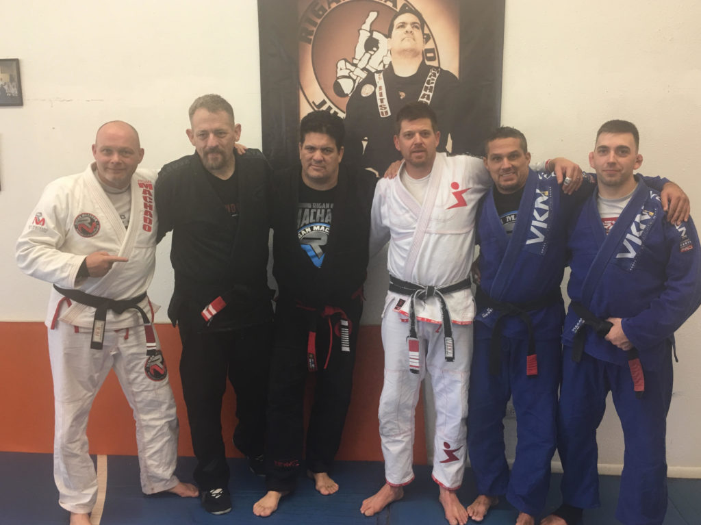 Mark Massey, Gerald Harris, Rigan Machado, Jeff Kunze, Brian  Baker, Danny Huntsman